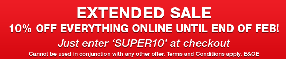 Extended Sale 10% off everything online